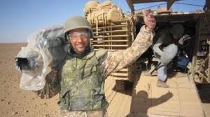 Fotograf Anders in der Wüste