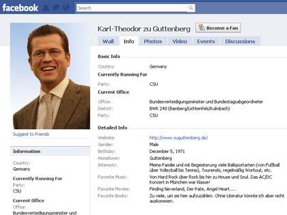 Guttenberg: Das große Web-Schweigen…?