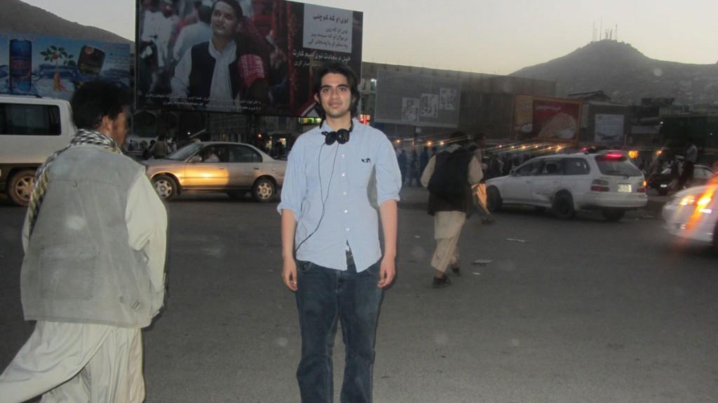 Kahled Massud Waziri in Kabul angekommen…