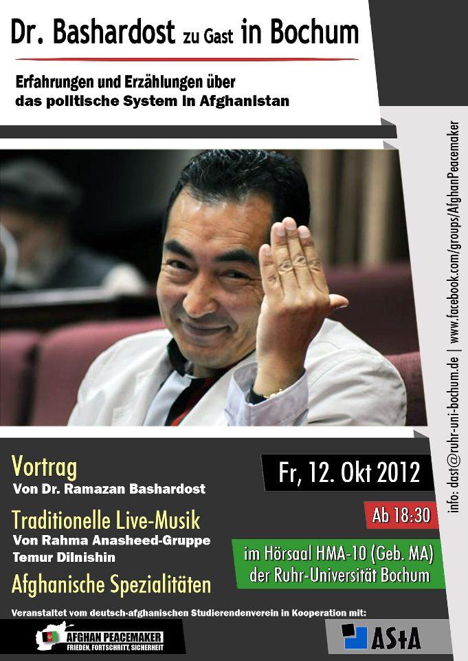 Bochum und Bonn: Kleine Afghanistan-Konferenz & more…